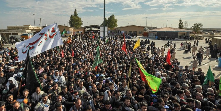 Iranian pilgrims visit Iraq as part of the 'Arbayeen ceremonies (Fars, October 12, 2019)