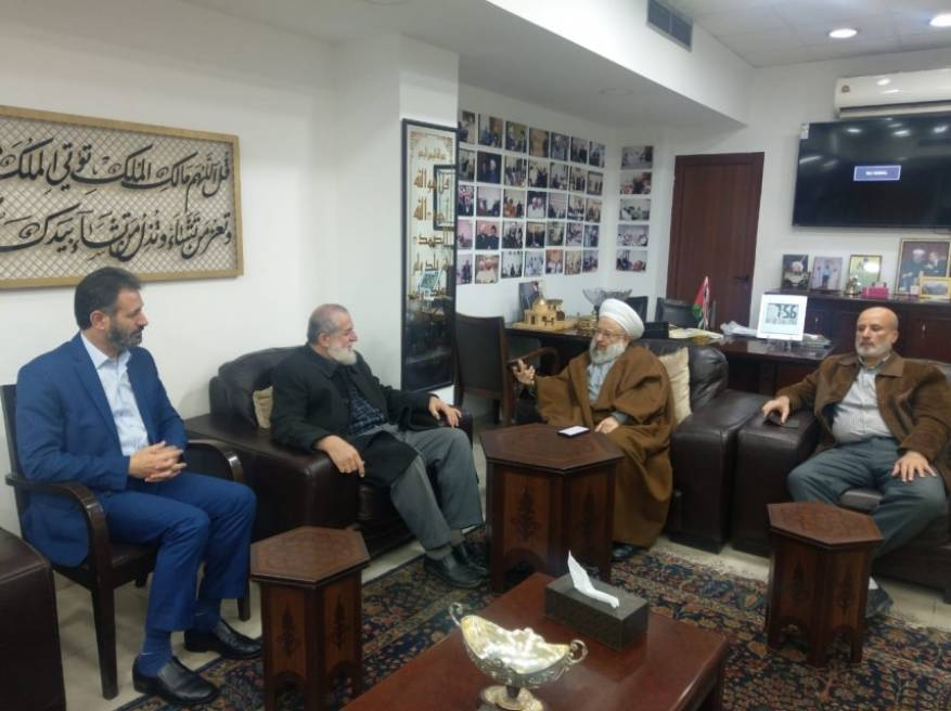 "PIJ delegation from the Gaza Strip meets with the chairman of the ""international association of Muslim scholars of the resistance"" (PIJ website, December 14, 2019)."