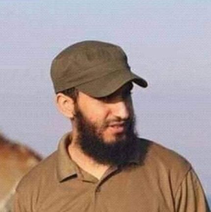 Imad al-Kawka, who was killed during an operation against the Egyptian army (@SahemPress Facebook page, December 13, 2019)