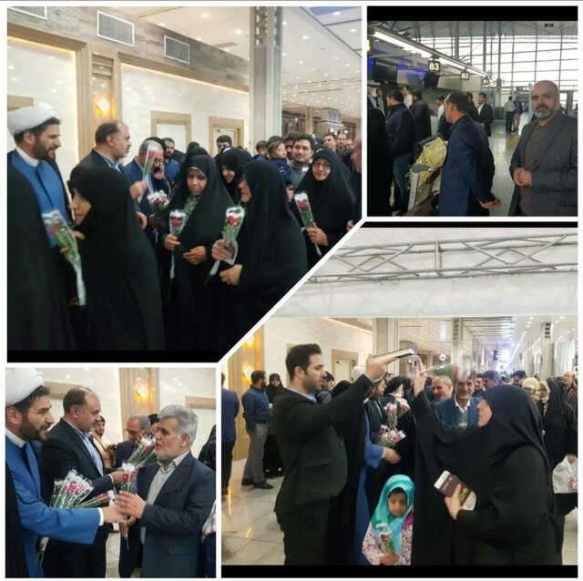 The first delegation of Iranian pilgrims to Syria in eight years (ISNA, December 16, 2019)