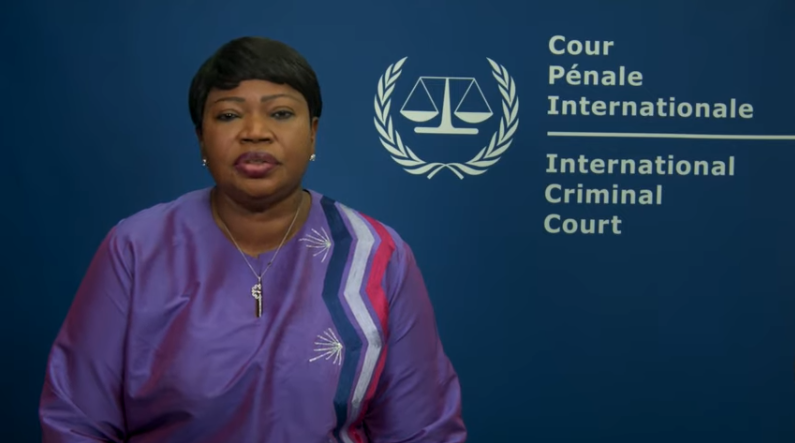 Fatou Bensouda, the ICC's Prosecutor (ICC YouTube channel, December 20, 2019).