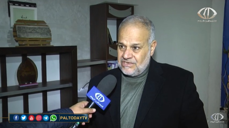 Khader Habib condemns the killing of Qassem Soleimani (Paltoday YouTube channel, January 3, 2020).