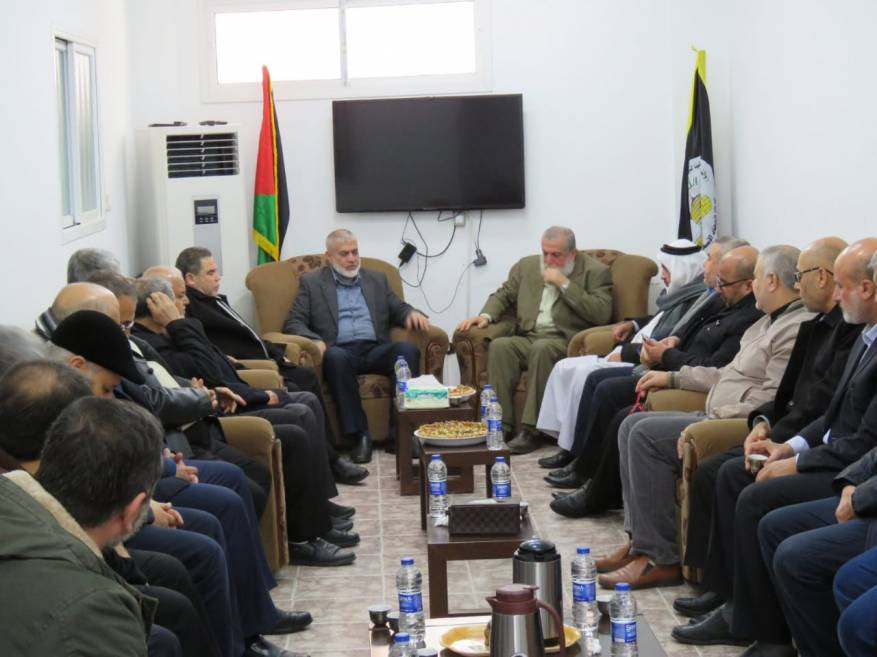 The meeting of the Hamas and PIJ leaderships (PIJ website, January 14, 2020).