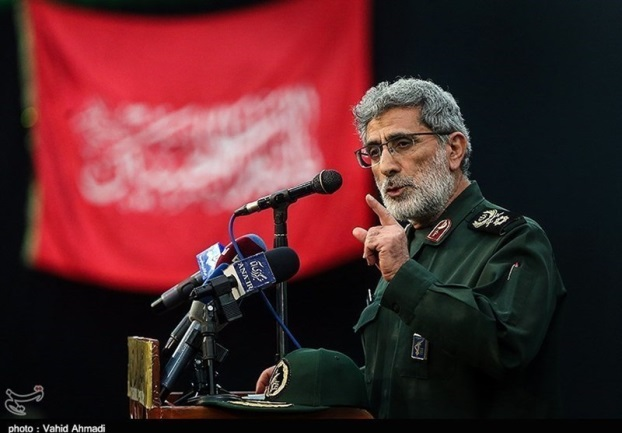 The incoming commander of the IRGC's Qods Force, Esmail Qa'ani (Tasnim, January 20, 2020)