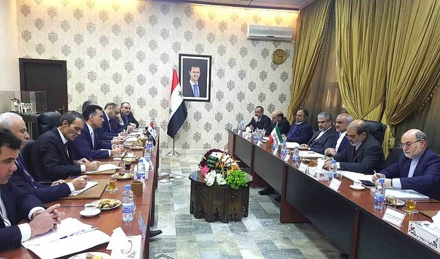 The meeting of the delegations from the Iranian and Syrian ministries of education in Damascus (ISNA, January 22, 2020)