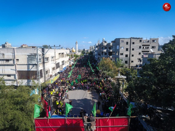 March in the northern Gaza Strip (Hamas website, January 31, 2020).