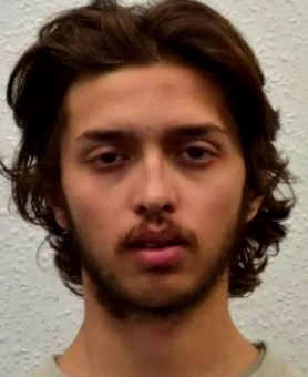 The stabber, Sudesh Amman, during his imprisonment in 2018 (Al-Bayan, February 3, 2020)