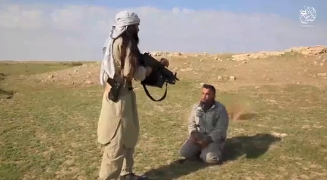Execution of a Tribal Mobilization fighter taken prisoner by ISIS (Telegram, January 31, 2020).
