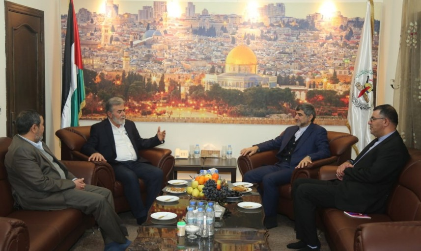Ziyad al-Nakhalah meets with the Iranian ambassador (alqudsnews.net, February 10, 2020).
