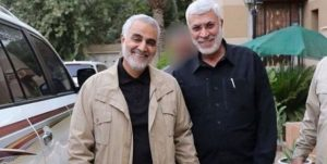 Qasem Soleimani and Abu Mahdi al-Muhandis, the deputy commander of the pro-Iranian Shi'ite militias in Iraq. Both were assassinated in a targeted strike in early January 2020 (Fars, January 4, 2020).