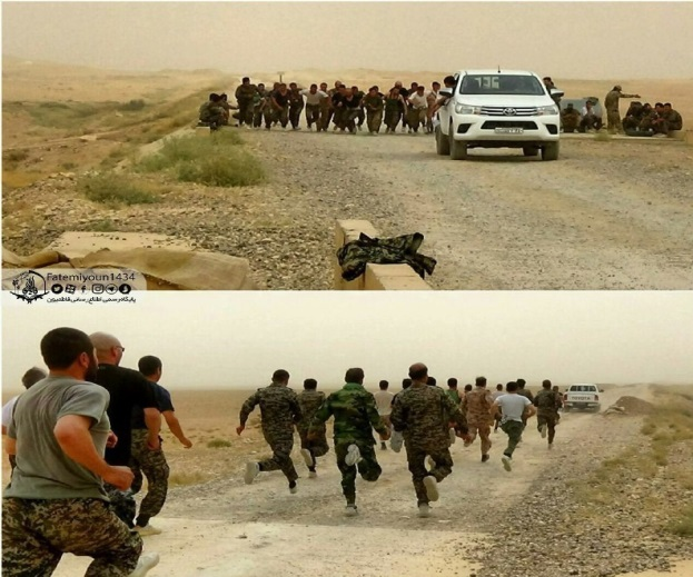 Training of the Afghan Fatemiyoun Brigade in Syria (Tasnim, August 1, 2019)
