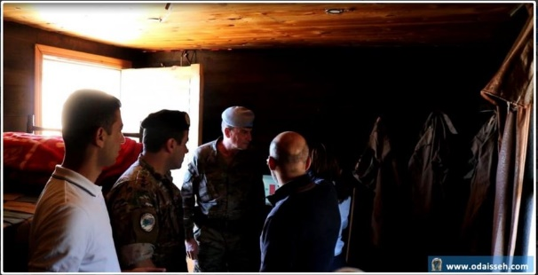 UNIFIL commander of the eastern sector visits a Green Without Borders center in al-Adeisse following the IDF spokesman's report (al-Adeisse local new website, October 31, 2018).