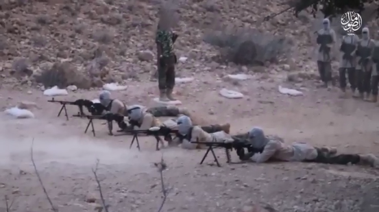 Light weapons training of Somalia Province operatives (Telegram, February 28, 2020)