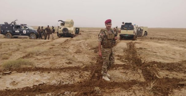 The Iraqi security forces during a large-scale operation against ISIS (al-hashed.net, March 14, 2020)