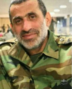 Mehran Azizani who was executed in Syria (Fars, March 18, 2020).