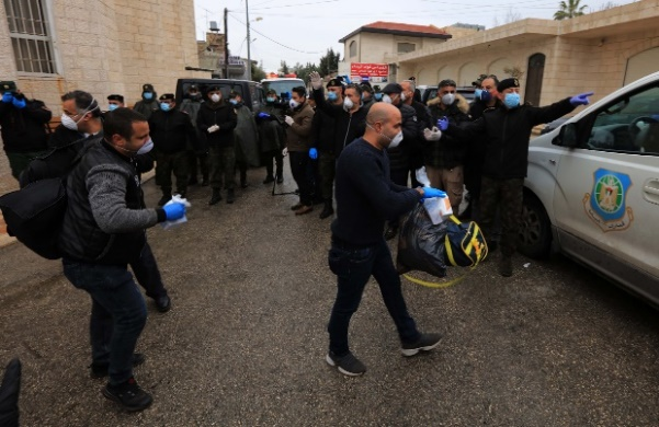 17 coronavirus patients from the Bethlehem district who had been quarantined in the Angel Hotel in Beit Jala are sent home (Wafa, March 20, 2020).