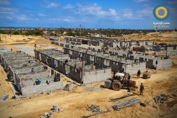Construction of 1,000 quarantine units in Rafah and the northern Gaza Strip (Msdrnewsnetwork Facebook page, March 21, 2020).