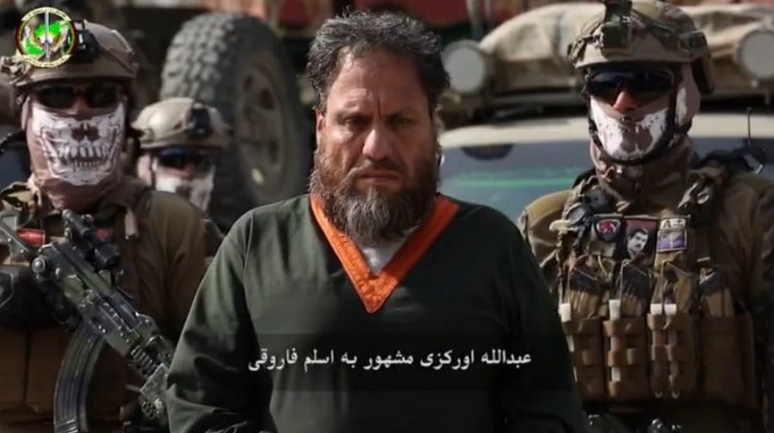 Emir of ISIS's Khorasan Province captured by Special Forces of the Afghan National Directorate of Security (Khaama Press, April 4, 2020)