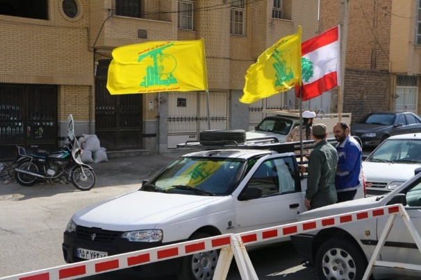 Members of the Lebanese community in the Iranian city of Qom, which is in the center of the COVID-19 spread, helping disinfect public spaces while carrying Hezbollah flags (the community, mainly consisting of students of religious institutions in the city and their families, is affiliated with Hezbollah) (Sayyid Yasser Twitter account, March 20, 2020; Hussein Nasrallah's Twitter account, March 20, 2020; manar_alkiltm Twitter account, March 22, 2020)
