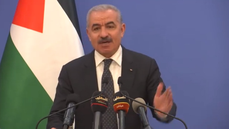 PA Prime Minister Muhammad Shtayyeh announces relaxations (Muhammad Shtayyeh's Facebook page, May 5, 2020).