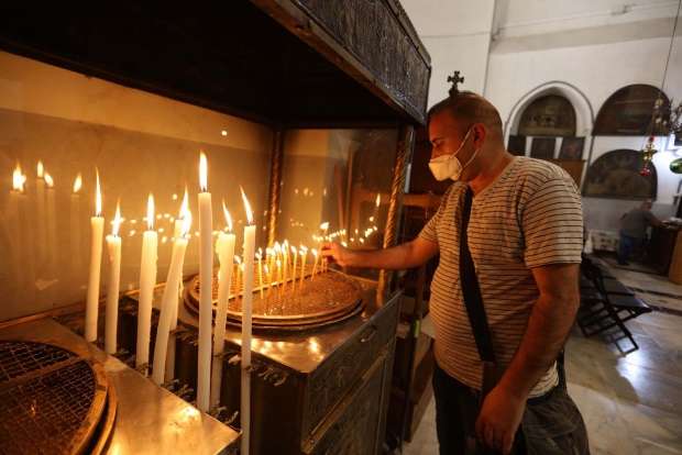 Opening the Church of the Nativity in Bethlehem to worshippers after it had been closed to the public for 70 days (Wafa, May 26, 2020).