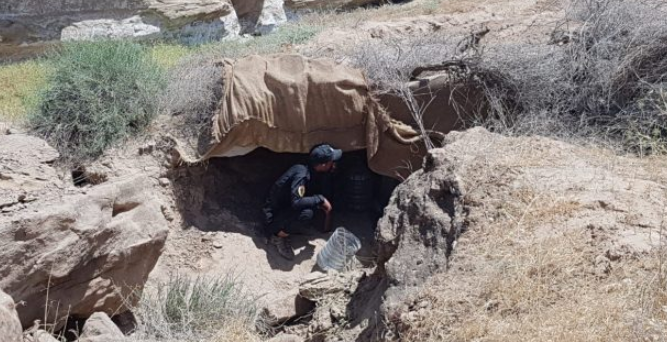 ISIS's hiding place.