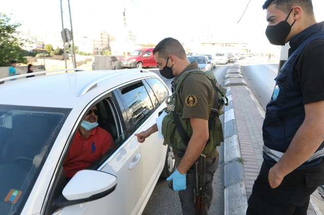 The Palestinian security forces in Hebron ramp up preventive measures in the district following the local spike in the spread of the virus (Wafa, June 23, 2020).