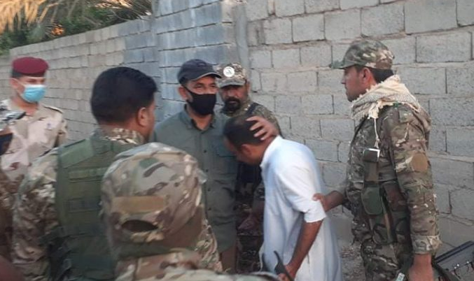 One of two ISIS operatives captured northwest of Baghdad (al-hashed.net, June 27, 2020)