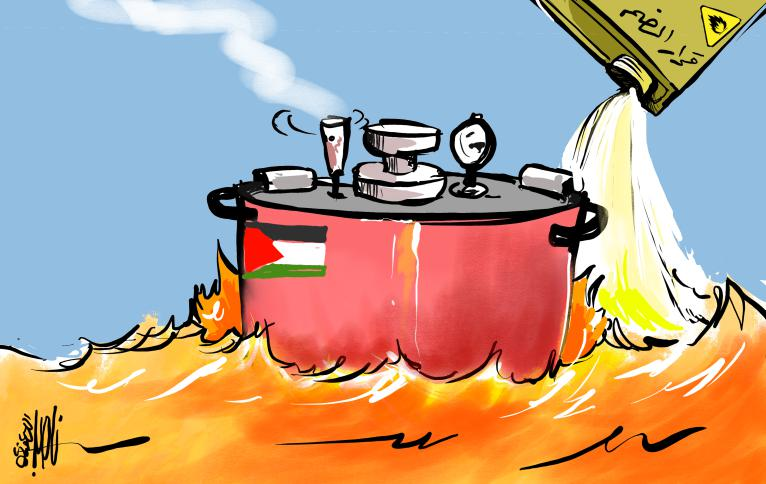 Israel's annexation plan as feeding the fire that will cause the Palestinian pressure cooker to explode (al-Quds, July 2, 2020)