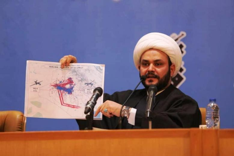 Sheikh Akram al-Kaabi, the Commander of the Harakat al-Nujabaa' militia (IRNA, February 15, 2020).