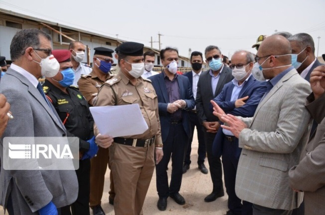A meeting of Iraqi and Iranian officials to examine the possibility of reopening the Shalamcheh border crossing (IRNA, May 9, 2020).