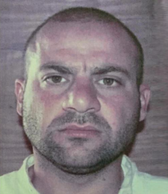 Photo of Haji Abdullah, distributed by the US Department of State (Al-Jazeera Channel, October 28, 2019). This photo was probably taken in Camp Bucca, the American detention facility in southern Iraq.