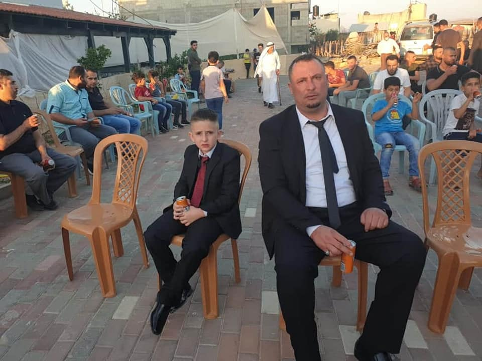 Wedding in the village of Jeet in the Qalqilya district. According to the family, in accordance with government decisions and the orders of the district governor, only close family members were invited (jeetpalestine Facebook page, July 21 and 23, 2020).
