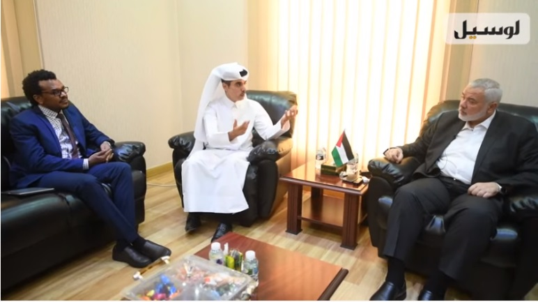 Isma'il Haniyeh, head of Hamas' political bureau, interviewed by the Qatari daily newspaper Lusail (Lusail on YouTube, July 27, 2020).