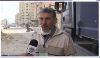 Samih Abu Ramila, chairman of the emergency committee to fight COVID-19 (Right: Raya FM Facebook page, May 24, 2020; Left: YouTube, April 15, 2020).
