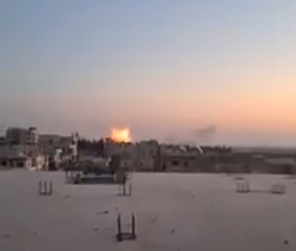 Russian aerial attack northeast of Idlib (Idlib Plus, August 2, 2020).