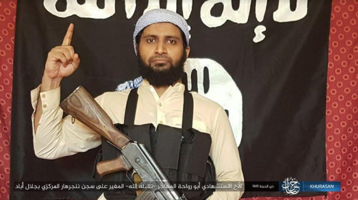 """The ISIS suicide bomber known as Abu Rawaha al-Muhajer (""""the immigrant""""), who detonated the car bomb at the beginning of the attack (Telegram, August 3, 2020)."""