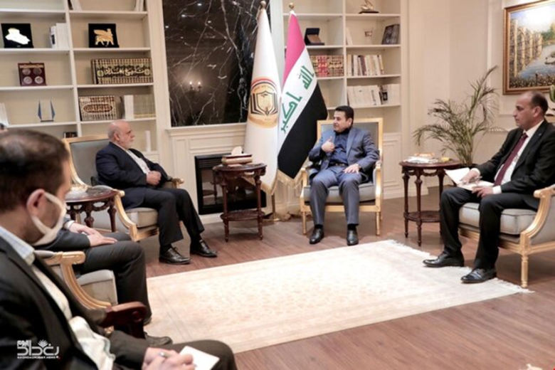 The meeting between the Iranian ambassador to Baghdad with the Iraqi national security adviser (Mehr, July 27, 2020).