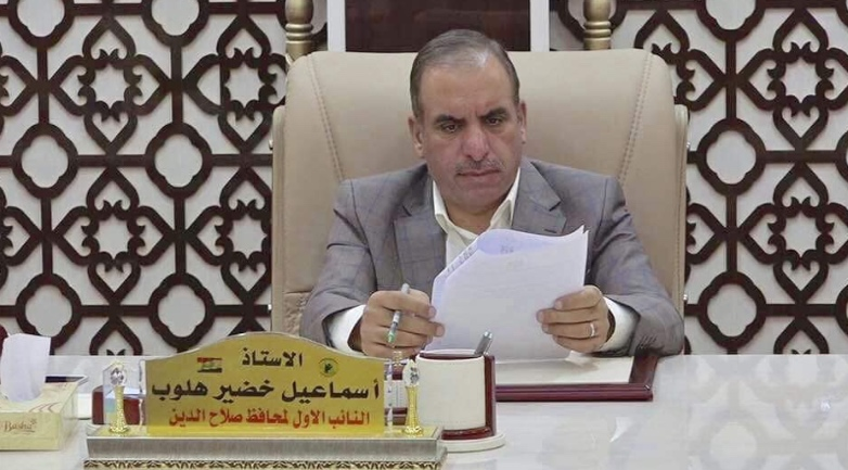 Target of assassination attempts: Ismail Khdeir Halloub, deputy governor of the Salah al-Din Province (Facebook, June 30, 2019)