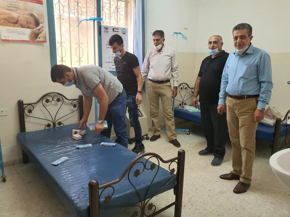 The medical centers which were opened (Facebook page of the governor of the Hebron district, August 9, 2020)