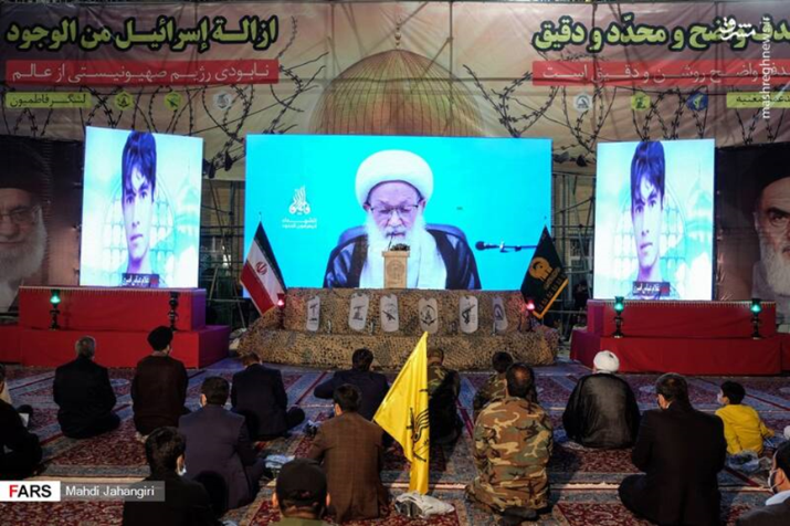 The Fatimiyoun Brigade conference in Mashhad (Fars, August 14, 2020).
