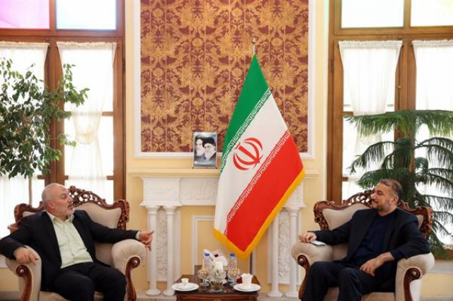 The meeting between the adviser on foreign affairs to the speaker of the Majlis with the head of Hamas' representative office in Tehran (website of the Majlis, August 16, 2020)