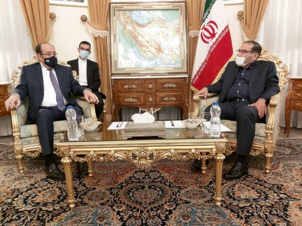 The meeting between Nouri al-Maliki with Ali Shamkhani (ILNA, September 15, 2020).