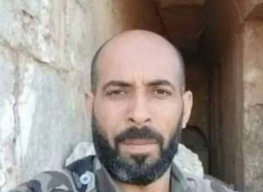 Home Defense Forces commander Faez Ghadban al-Kisoum killed in the explosion of an IED detonated by ISIS (Deir ez-Zor 24 Twitter account, September 20, 2020)