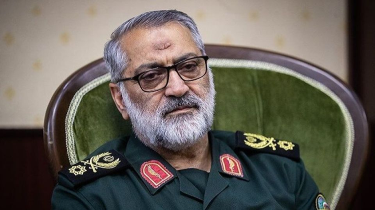 Abolfazl Shekarchi, the Spokesman of the Iranian Armed Forces (Fars, September 22, 2020)
