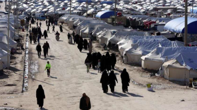 The Al-Hawl detention camp (syriacpress.com, May 8, 2020)