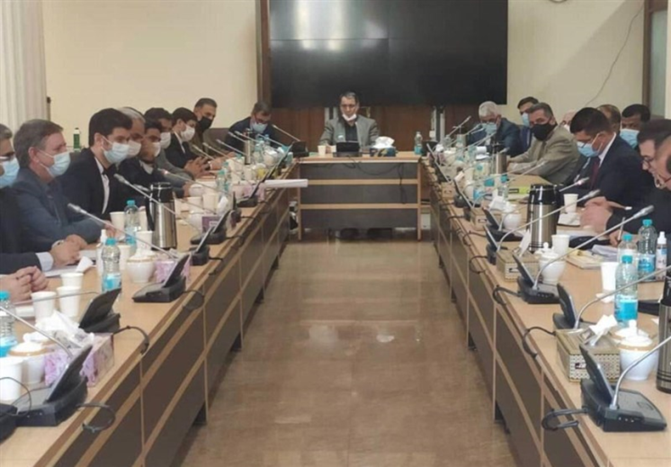 The deliberations between the Iranian and Iraqi delegation in Tehran (Tasnim, October 22, 2020)