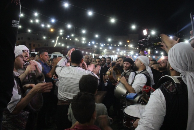 A wedding in the village of Yamun, in the Jenin district (Facebook page of alyamun.alhabeba, October 31, 2020).