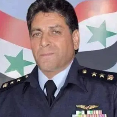 Manhal Aziz Saleh, a Syrian Air Force pilot with the rank of brigadier general, who was killed en route to the T-4 airbase