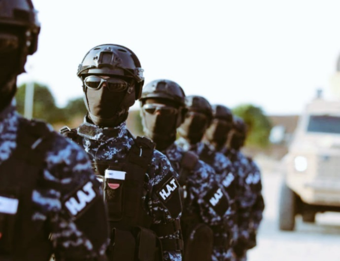 Members of the SDF Counterterrorism Apparatus (Twitter account of the SDF Coordination and Military Ops Center, November 8, 2020)